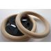 Гимнастические кольца взрослые, диаметр 240 мм
