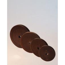 Диск обрезиненный 1,25 кг. диаметр 26