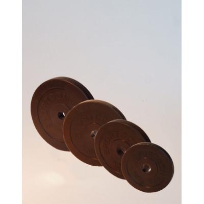 Диск обрезиненный 10 кг. диаметр 26