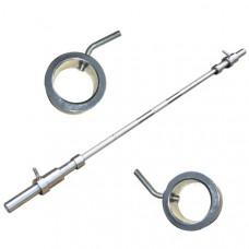 Гриф для штанги прямой длина 1,2 м. диаметр 26 мм.